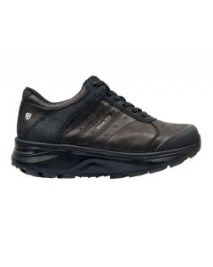 Joya Mens Innsbruck in Black Leather, side
