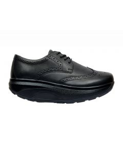Mens Joya Rocker Sole Shoes, ID Dress in Black, side