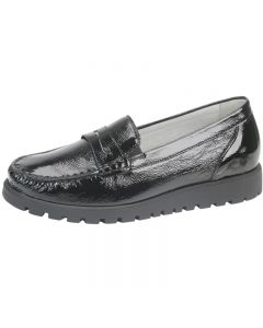 Waldlaufer Hegli Loafer, Black Patent
