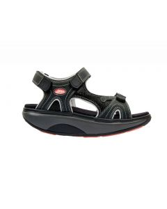 Joya Cairo Walking Sandal in Black Nubuck