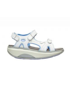 Joya Cairo Walking Sandal in White Leather