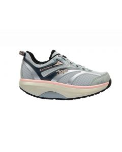 Joya ID Zoom in Light Grey and Pink