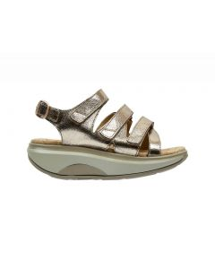 ID Kyoto Sandal in Gold Leather