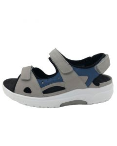 Waldlaufer H Yvonne Rocker Sole Sandal in Light Grey