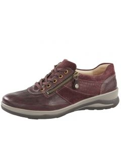 Fidelio Hayley Lace up Shoe in Vino