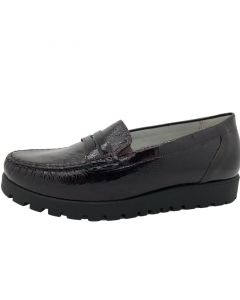 Hegli Loafer in Wine Patent