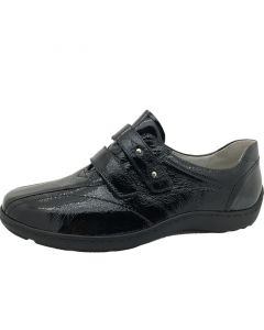 Waldlaufer Henni Black Patent Shoe
