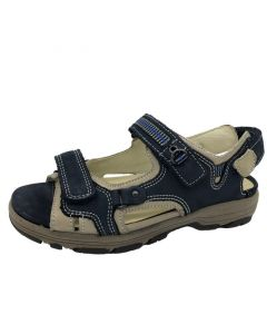Waldlaufer Herki Sandal in Navy