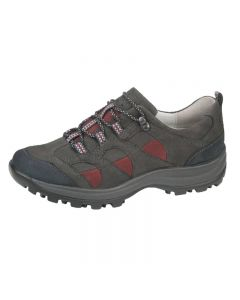 Waldlaufer Holly Walking Trainer in grey, Wine and Navy
