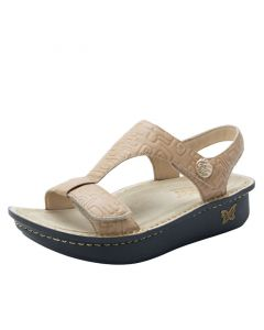 Alegria Kerri Velcro Sandal in Basically Amazing
