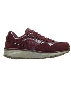 Joya Tina trainer in Dark Red