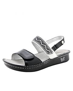 Alegria Verona Sandal in Black