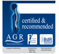 Certified by AGR Logo