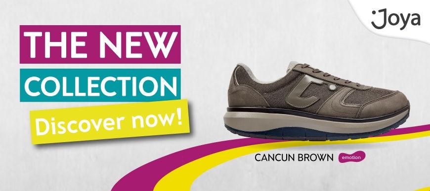 Mens joya Shoes Cancun in Brown