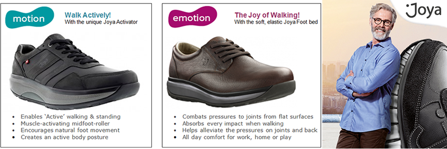 Mens Joya Shoes Information