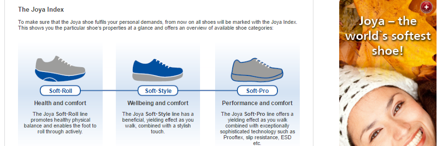 Joya shoes for women