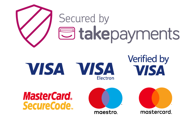 Takepayments Accepted Cards