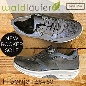 Waldlaufer H Sonja Rocker Sole SHoes