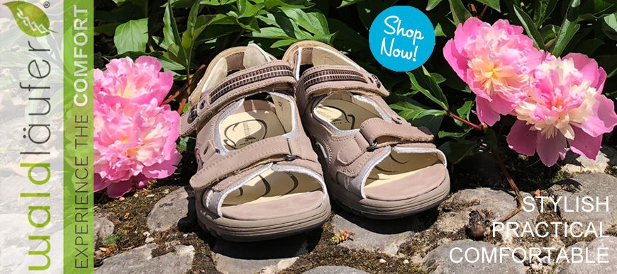 Waldlaufer Sandals at Cheerful Soles