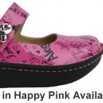 Alegria Donates Profit from Happy Pink Paloma to Breast Cancer Research