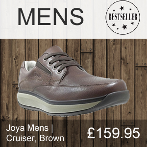 Best selling mens Joya Cruiser shoe in Brown