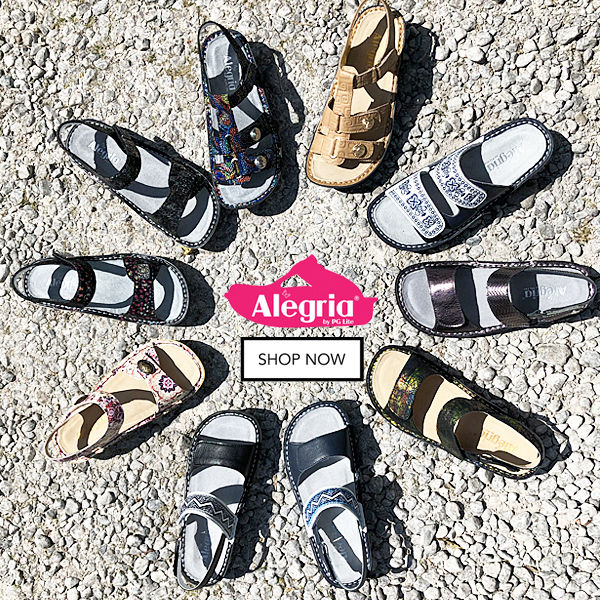 Shop online now for Alegria Sandals at Cheerful Soles
