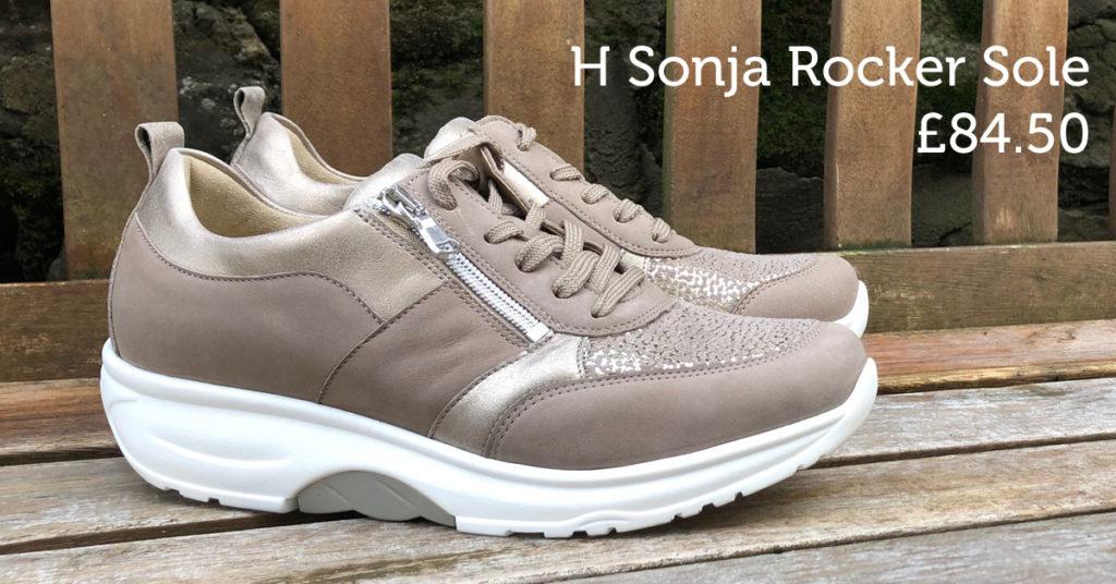 Waldlaufer Ladies Rocker sole shoe